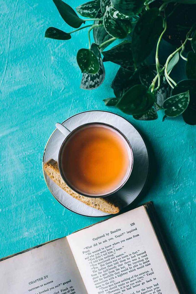 pouring tea