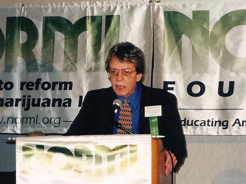 keit stroup speaking at marijauana event