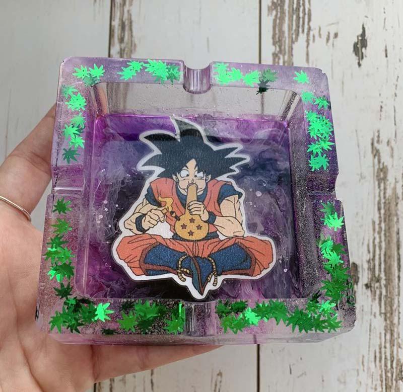 goku super saiyan ashtray