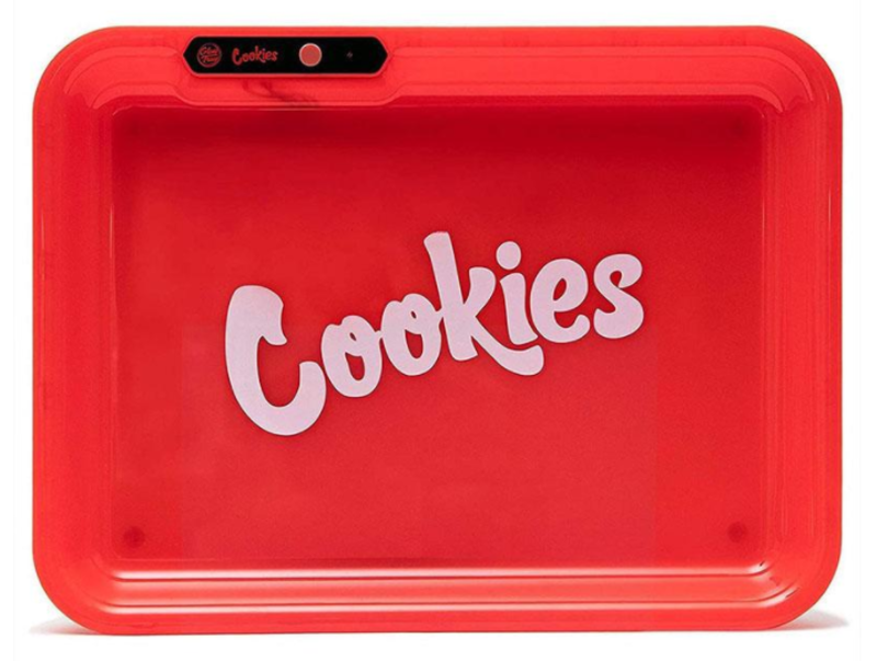 cookies light up rolling tray