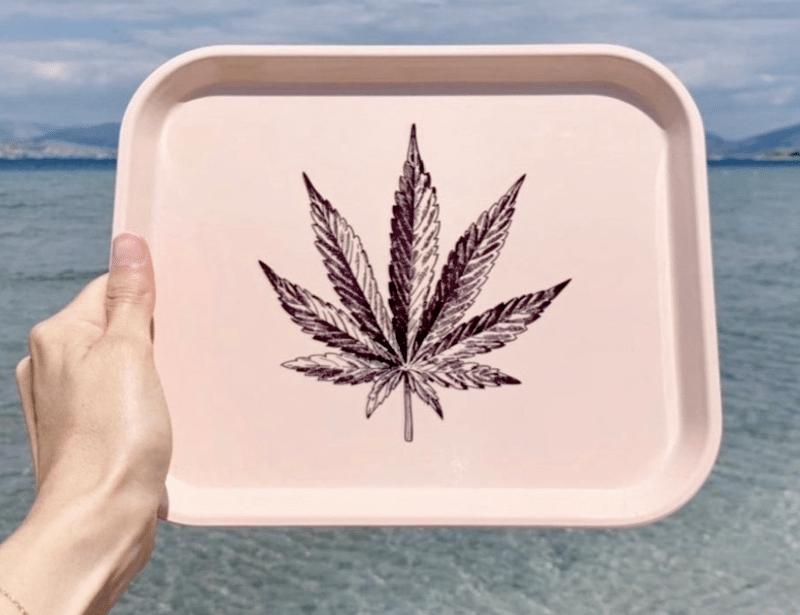 cute rolling tray