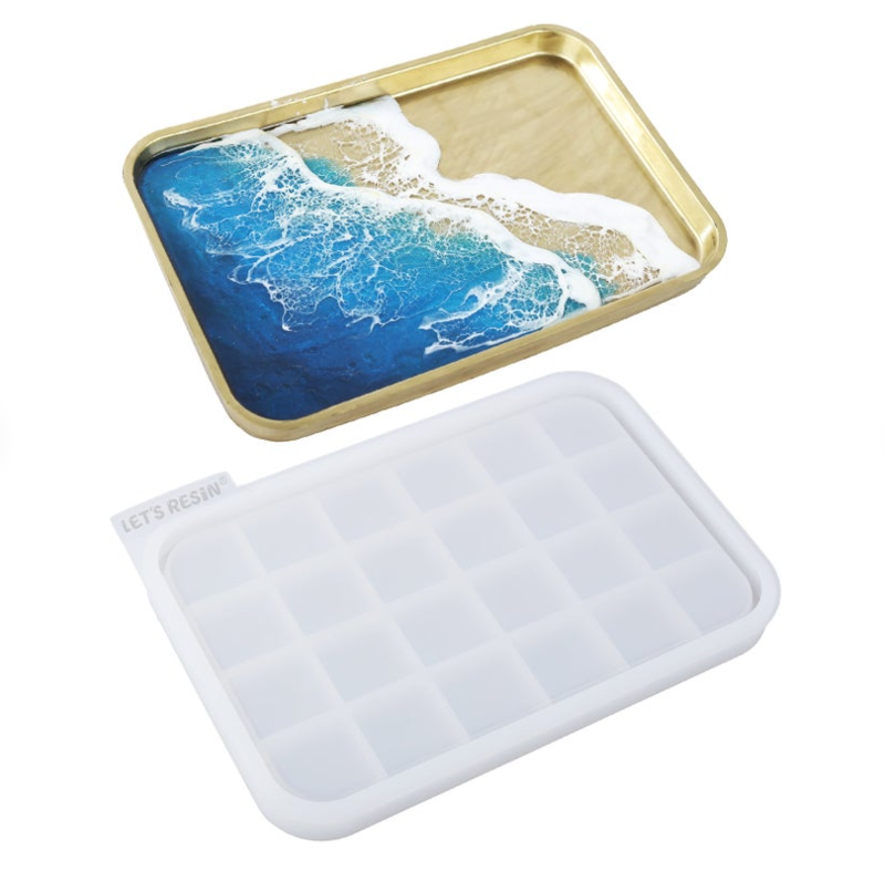 resin rolling tray