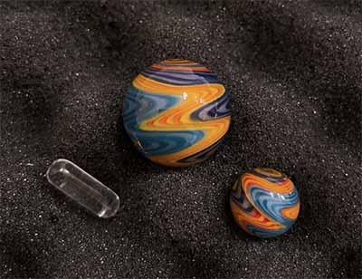colorful terp slurper marble set