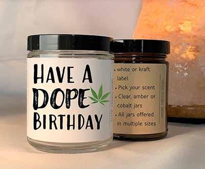 smoke odor eliminator candle for birthday